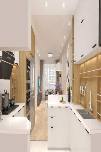 120平米三室三厅现代简约风格厨房装修图片大全