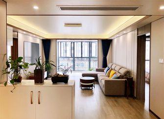 70平米现代简约风格客厅设计图