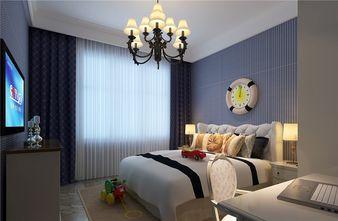 140平米四室两厅英伦风格卧室欣赏图