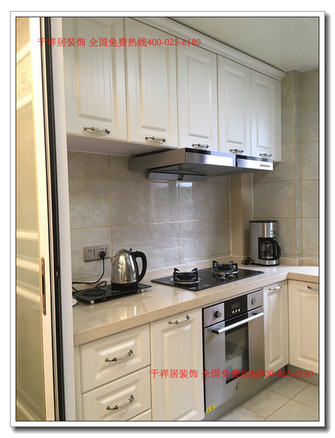 120平米三室两厅欧式风格厨房效果图