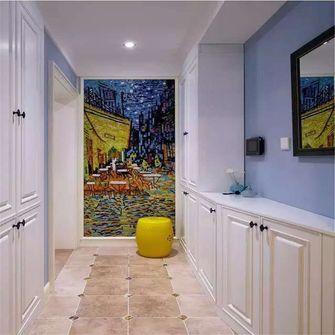100平米三室两厅混搭风格玄关图