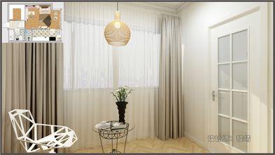 50平米一居室混搭风格客厅装修效果图
