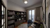 140平米四欧式风格书房图