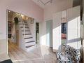 10-15万40平米小户型现代简约风格楼梯设计图