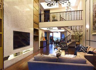 140平米三室一厅新古典风格客厅设计图