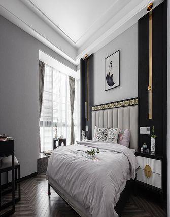 130平米四室一厅中式风格卧室欣赏图