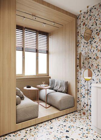 100平米三室一厅现代简约风格阳光房效果图