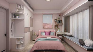 110平米三室两厅现代简约风格儿童房图片大全