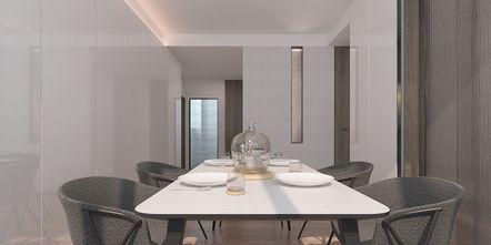 140平米三室两厅混搭风格影音室图片