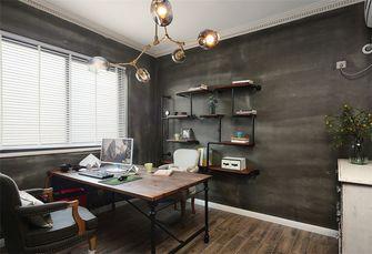 90平米三室两厅混搭风格书房欣赏图