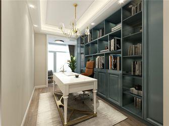 140平米四室两厅欧式风格书房图