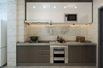 70平米一居室现代简约风格厨房设计图