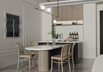 140平米三室两厅中式风格餐厅设计图