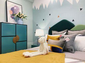 140平米复式混搭风格卧室图片大全