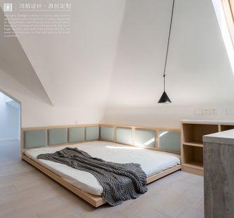 100平米复式现代简约风格阁楼装修效果图