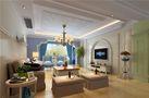 140平米四室两厅英伦风格客厅效果图