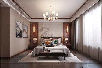 140平米三中式风格卧室装修案例