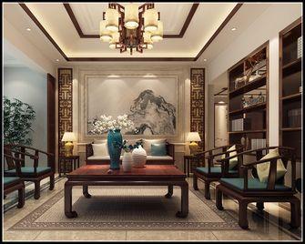 140平米别墅中式风格书房图片