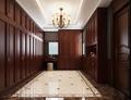 140平米别墅美式风格衣帽间设计图