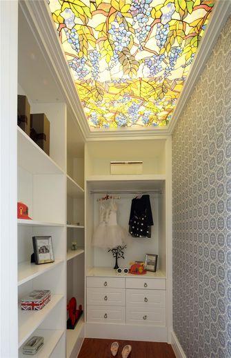 豪华型140平米四室三厅地中海风格衣帽间图
