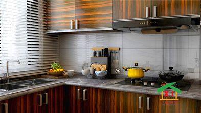 130平米四室一厅新古典风格厨房图片大全
