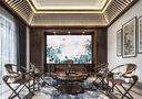 120平米三室两厅中式风格阳光房装修案例