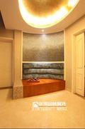 富裕型140平米别墅中式风格楼梯欣赏图