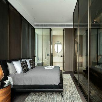 140平米四室三厅现代简约风格衣帽间欣赏图