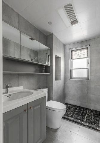 110平米三室两厅现代简约风格卫生间装修效果图