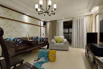 10-15万80平米中式风格客厅设计图