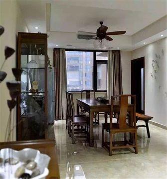 经济型130平米四室两厅中式风格餐厅设计图