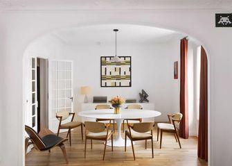 80平米三室一厅欧式风格餐厅装修效果图