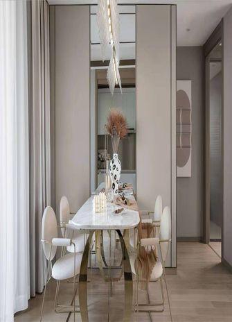 100平米三室两厅法式风格餐厅设计图