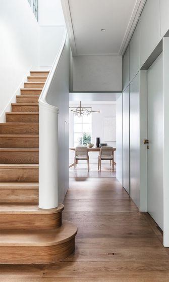 140平米别墅混搭风格楼梯间图片大全