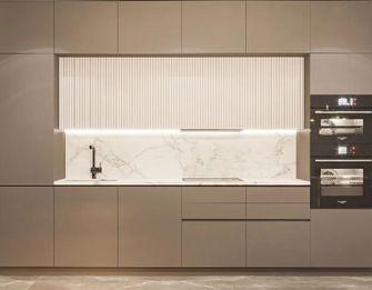 140平米四室四厅现代简约风格厨房图片大全
