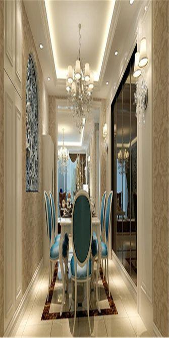 140平米三欧式风格餐厅图片大全