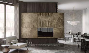 140平米三室两厅混搭风格客厅装修图片大全