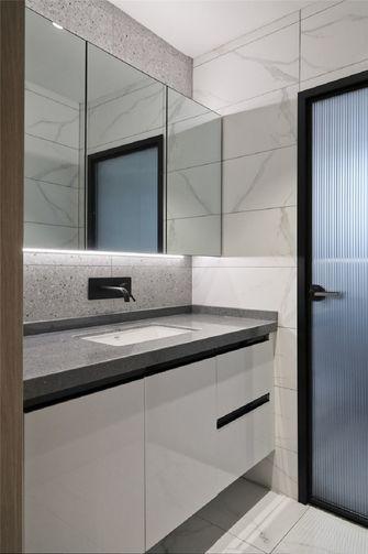 130平米三室两厅现代简约风格卫生间欣赏图