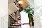 20万以上140平米别墅混搭风格楼梯装修图片大全