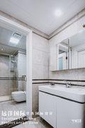 140平米三室三厅美式风格卫生间装修图片大全