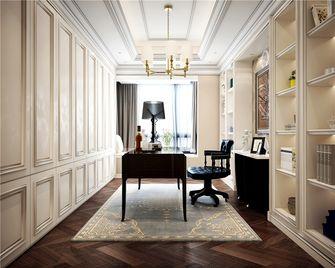 140平米四室一厅欧式风格书房图片