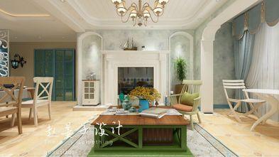 100平米三室一厅地中海风格客厅欣赏图