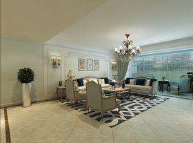 140平米四室兩廳歐式風格客廳裝修案例