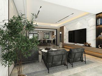 130平米四室一厅法式风格客厅效果图