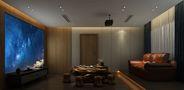 140平米别墅日式风格影音室装修案例