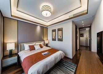 120平米三室一厅中式风格卧室图片