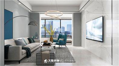 100平米三室两厅现代简约风格阳台图