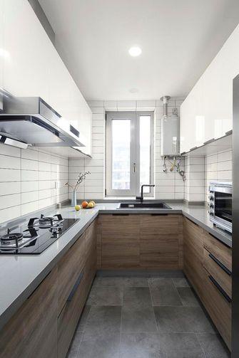 110平米三日式风格厨房图片