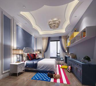 140平米四室两厅新古典风格儿童房图
