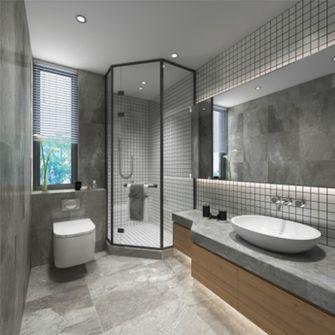 140平米三日式风格卫生间设计图
